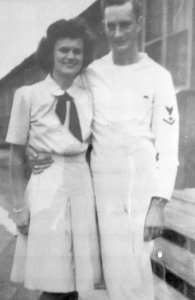 Barbara & Joseph Cain met int he navy during WW2