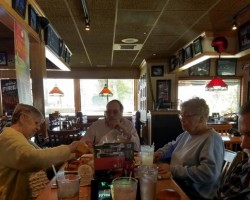 Here at Arcadia Gardens we are Family and always enjoy our wonderful outings. Today we dined, laughed and shared stories. Cheers to friendships and memories.