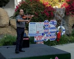 Pool Side Concert with Arman Mangasaryan