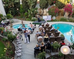 Pool Side Concert with Arman Mangasaryan