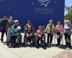 Visit to the Aquarium of the Pacific
