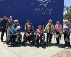 Visit to the Aquarium of the Pacific