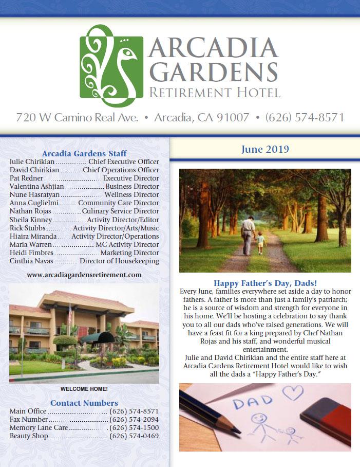 Arcadia Gardens | Newsletters